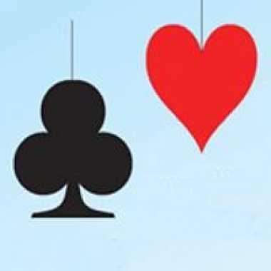 Hangversiering harten