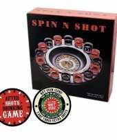 Drankspel drinkspel shot roulette met after shots viltjes